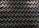 Стрейч-бархат крэш  с голографией черный, фото 2