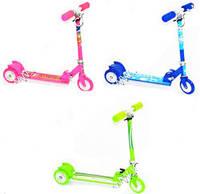Самокат детский 3-х колесный с большими колесами