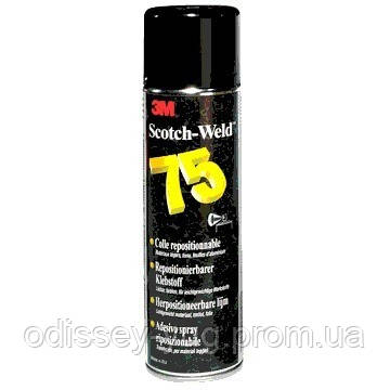 Аэрозольный клей 75 3M™ Scotch-Weld™. Клей для временной фиксации Spray 75. Клей для трафаретов - Одиссей-Юг - двухсторонний скотч, клей, герметики, абразивы, электротехнические материалы 3М в Одессе