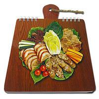 Блокнот для рецептов на жесткой основе CookNotes «Ассорти», фото 1
