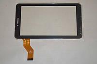 Оригинальный тачскрин / сенсор (сенсорное стекло) для C186104C1-FPC748DR (черный цвет, самоклейка)