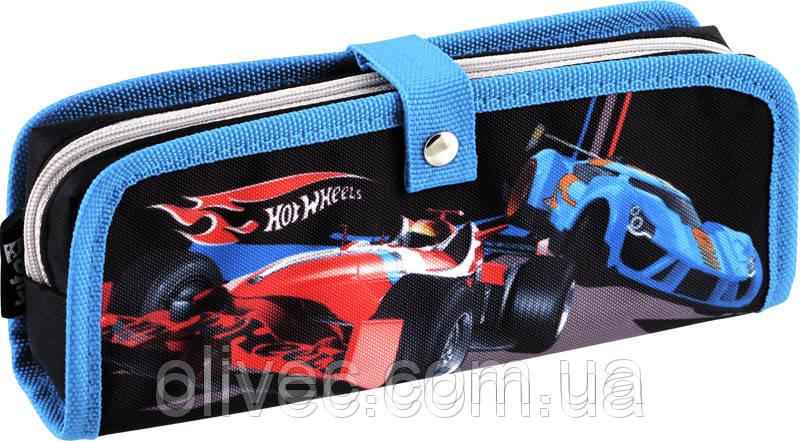 "Пенал Kite ""Hot wheels"" 21х8х4 см."