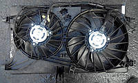 Диффузор вентилятора радиатора Рено Мастер 3  в сборе с вентиляторами и моторами б/у