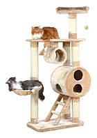 Игровой комплекс (когтеточка) для кошки TRIXIE Mijas h176см. 43971