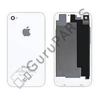 Задняя крышка для iPhone 4S, цвет белый, копия