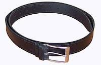 Ремень кожаный брючный Медан 1502 (ширина 3,5 см)