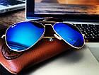 Очки Ray Ban Aviator синие (replica), фото 8