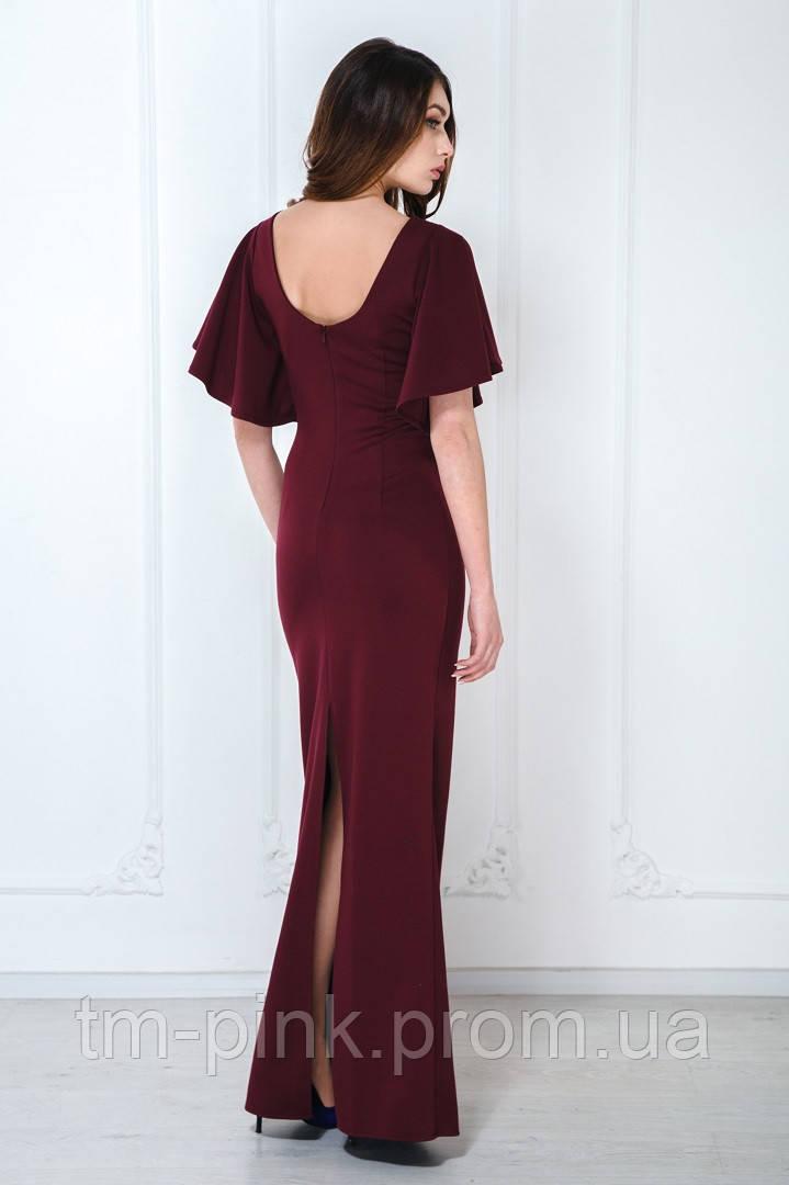 6ea5e5ed1745fd Сукня максі рукав-сонце марсала марсала, xs, цена 1 299 грн., купить Львів  — Prom.ua (ID#507110886)