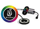 Светодиодное кольцо  SOLCCLR, 2-6 Ватт меняет цвета, фото 2