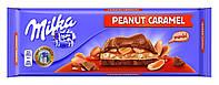 Молочный шоколад Milka  с арахисом и карамелью, 276 г