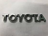 Toyota Corolla 2007-2013 Надпись Toyota 110мм на 20мм