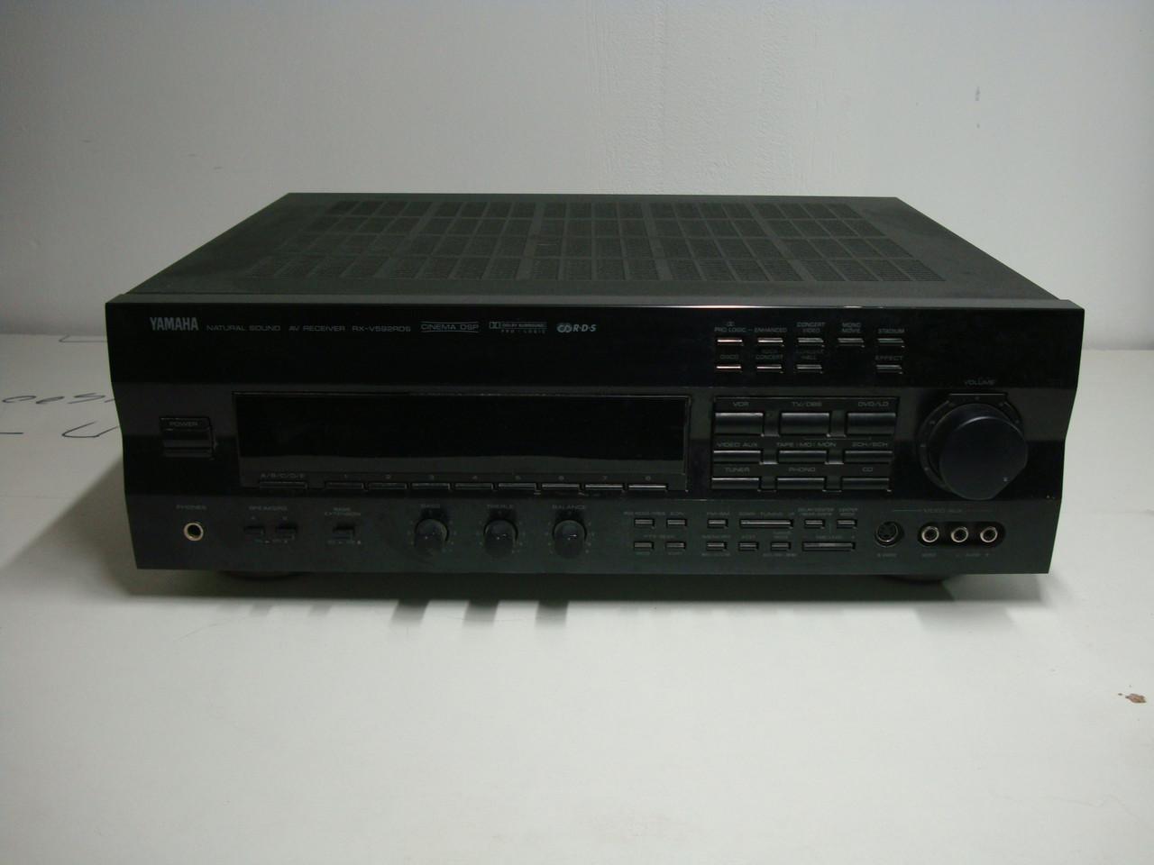 AV-ресивер б/у Yamaha RX-V592 RDS