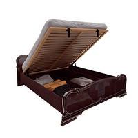 Футура кровать 160 подъемная с каркасом Радика Махонь