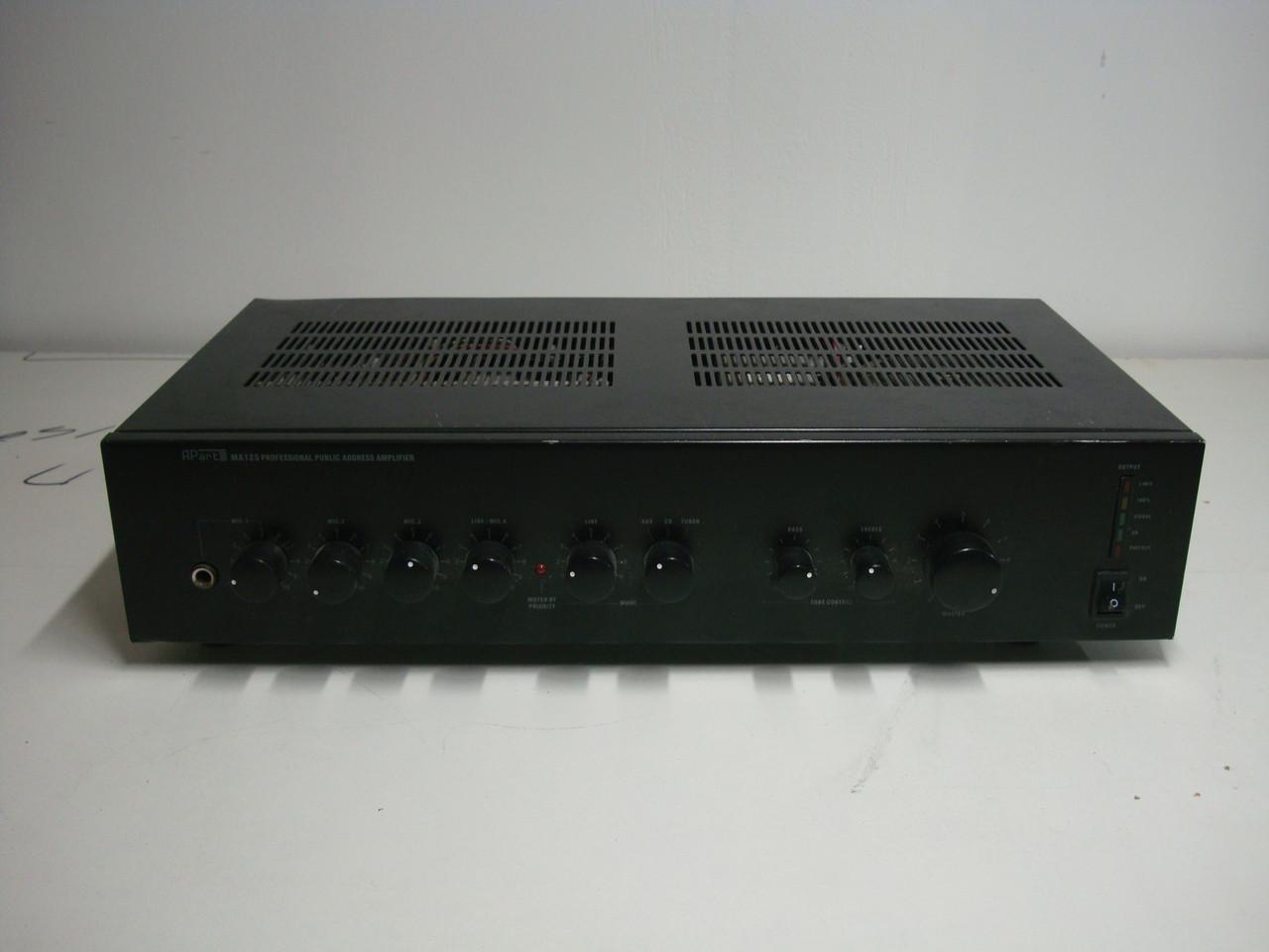 APart MA125 - компактный Б/У трансляционный микшер-усилитель, фото 1