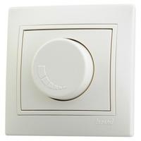 Светорегулятор с фильтром и предохранителем Lezard Deriy 500 Вт белый