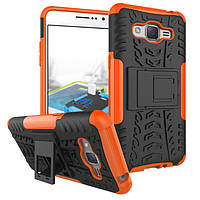 Чехол Samsung J2 Prime / G532F противоударный бампер оранжевый