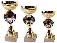 Кубок лавровый венок комплект (1, 2, 3 место)