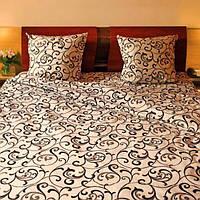 Оригинальное постельное белье отличного качества 100 % хлопок евро