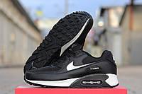Кроссовки Nike Airmax 90 черно белые 1777