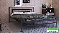 Кровать металлическая  Брио 2  / Brio 2 двухспальная 180 (Метакам) 1860х2080х800 мм
