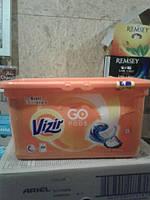 Гелевые капсулы Vizir Go Pods Alpine Fresh ( Визирь Гоо Подс Горная Свежесть) 38 шт