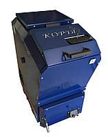 Двухконтурный твердотопливный котел Корди КОТВ - 16 кВт. Длительного горения!