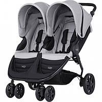 Детская прогулочная коляска для двойни Britax B-Agile Double Steel Grey купить оптом и в розницу в Украине 7км