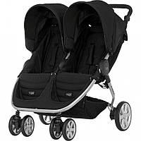 Детская прогулочная коляска для двойни Britax B-Agile Double Black купить оптом и в розницу в Украине 7км