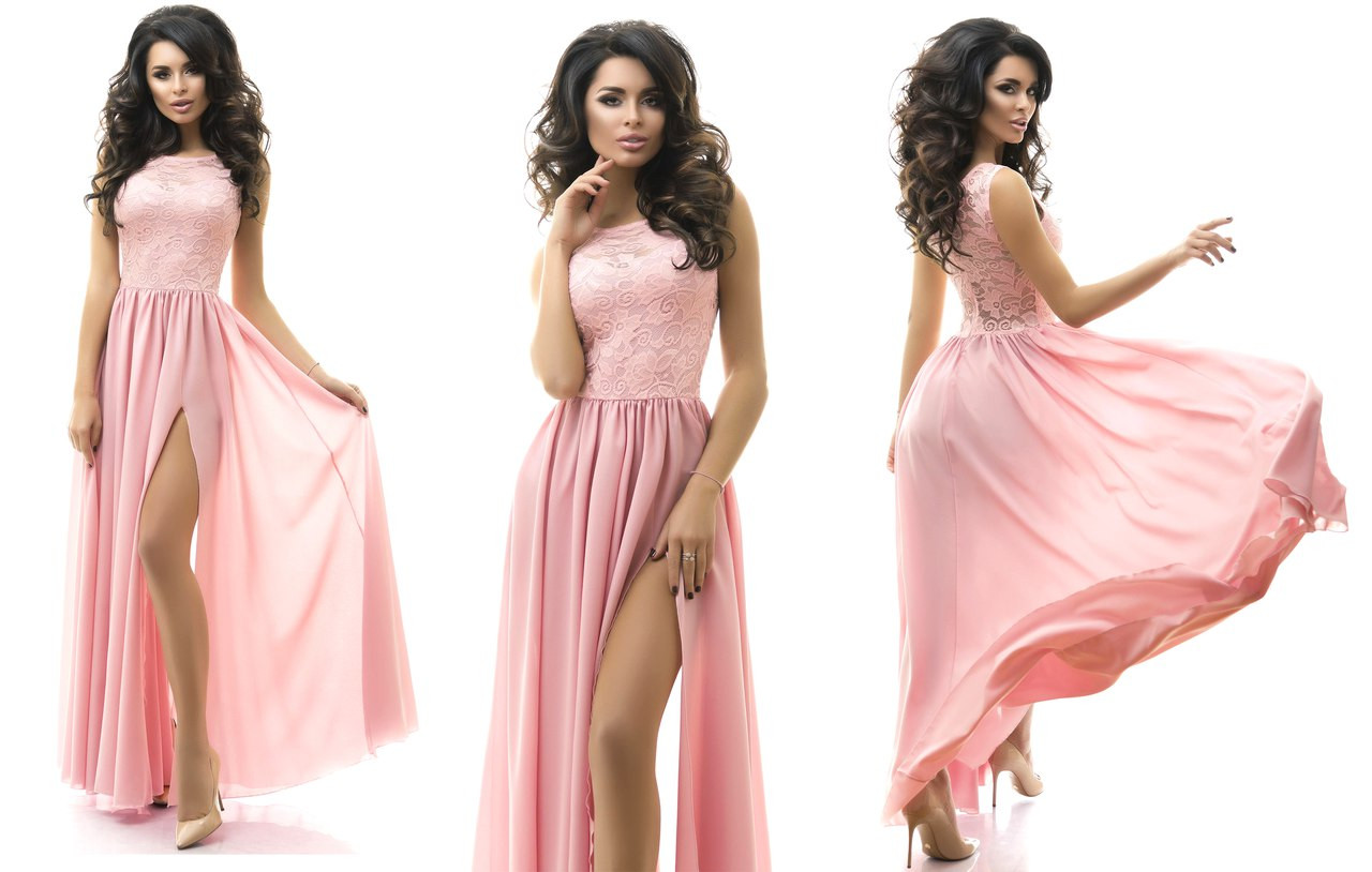 de7c9125a59 Красивое женское платье в пол