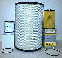 Комплект фильтров Вольво ФЛ 2 Евро 4/5 (Volvo FL 2) воздушный, масляный, топливный сепаратор