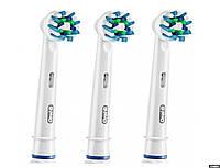Cменные насадки для электрических зубных щеток Oral-B Cross Action EB50-3 2 шт + 1 шт