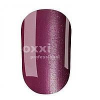 Гель-лак OXXI кошачий глаз №025 (темный фиолетово-лиловый, магнитный), 8 мл