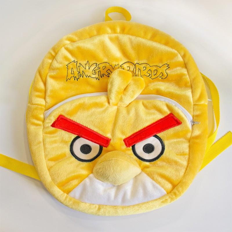 """Рюкзак Злые птицы """"Angry Birds"""" Чак, 2 отделения, желтый, 30*28см, Золушка, 596 - ИНТЕРНЕТ МАГАЗИН УКРАИНЫ КОКОСИК в Днепре"""