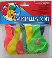"""Шарики набор """"Сердце+Круглые"""", 9шт/упак., """"Мир шаров"""", 049"""