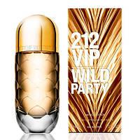Женская парфюмированная вода Carolina Herrera 212 VIP Wild Party (Каролина Эррера 212 Вип Вилд Пати) 80 мл