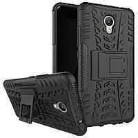 Чехол Meizu M5 Note противоударный бампер черный