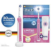 Электрическая зубная щетка Oral B Professional  Care 700 (D16) Design Edition+дорожный контейнер бесплатно