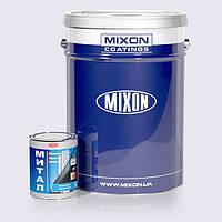 Грунт-краска по металлу Mixon Митал. Коричневая полуматовая (RAL8016). 1 л 25 кг, Белый