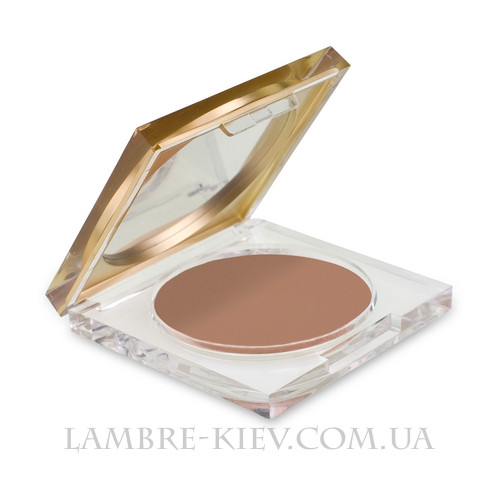 "Компактная пудра ""CONTOUR FACE PRESSED POWDER BRONZER MAT (Матовый бронзер)"" Ламбре / Lambre"
