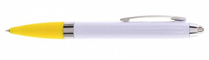 Ручка шариковая Economix Promo Paris, цвет ручки Желтый