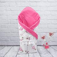 """Весенний конверт-одеяло для новорожденных """"Valleri"""" (Балерины)"""