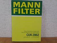 Фильтр салона угольный Шкода Октавия Тур с конд. 1996-->2010 Mann (Германия) CUK 2862