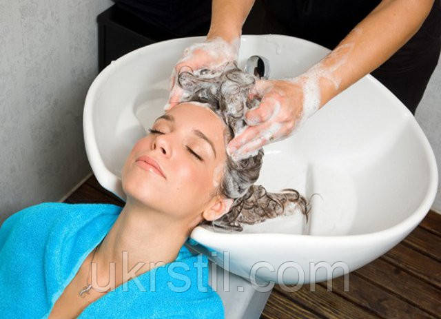 Массаж волосистой части головы.