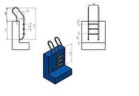 Лестница для бассейна (купели) Mixta 3 ступени