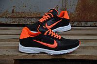 Яркие мужские кожаные кроссовки Nike, фото 1