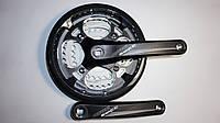 Шатун Prowheel Swift (48х38х28), модель.251P разб. черный