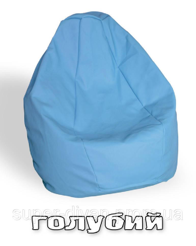 Кресло-груша Гном (голубой)