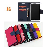 Чехол книжка Goospery для LG Max X155 / L Bello 2