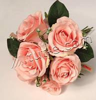 Букет из розы розовой