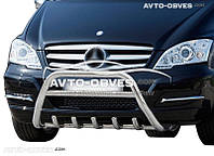 Кенгурятник Mercedes Benz Vito / Viano 2010-2014 нержавейка